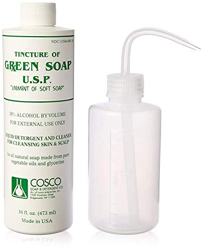 Cosco Green Soap 1 Pint + Squeeze Bottle