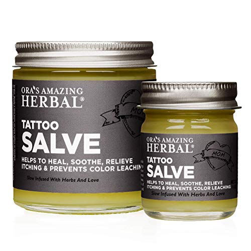 Ora's Amazing Herbal Tattoo Salve Aftercare