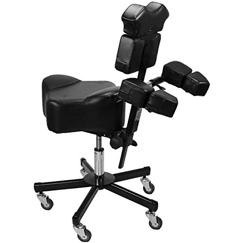 Brand New InkBed Patented Adjustable Ergonomic Tattoo Chair Studio Equipment