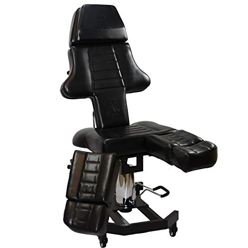 New Patented InkBed Hydraulic Client Tattoo Massage Bed Chair