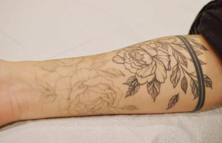 How to fade a tattoo with hydrogen peroxide