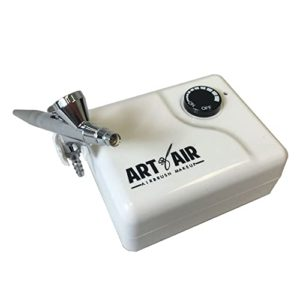 Art of Air Cosmetic Airbrush Makeup Kit with Bronzer
