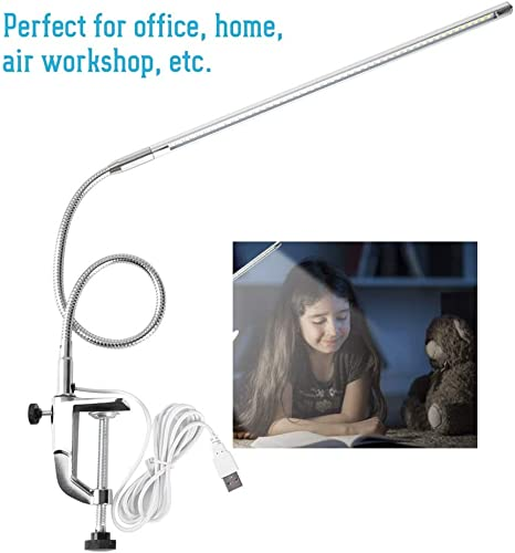 Delaman LED USB Charged Desk Lamp for Tattooing